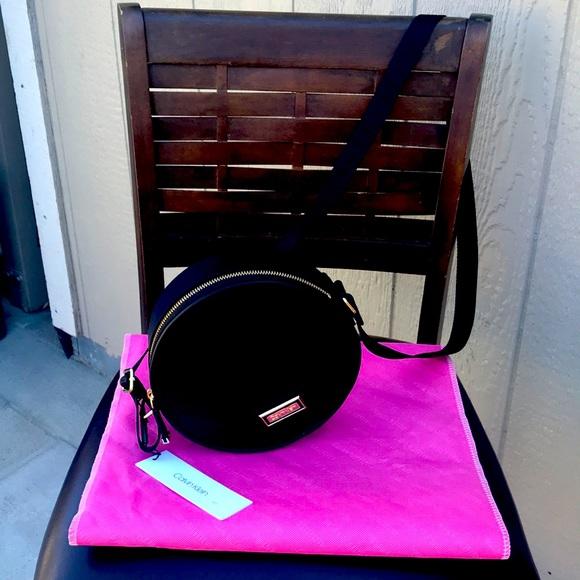 Black Calvin Klein canteen style crossbody bag NWT